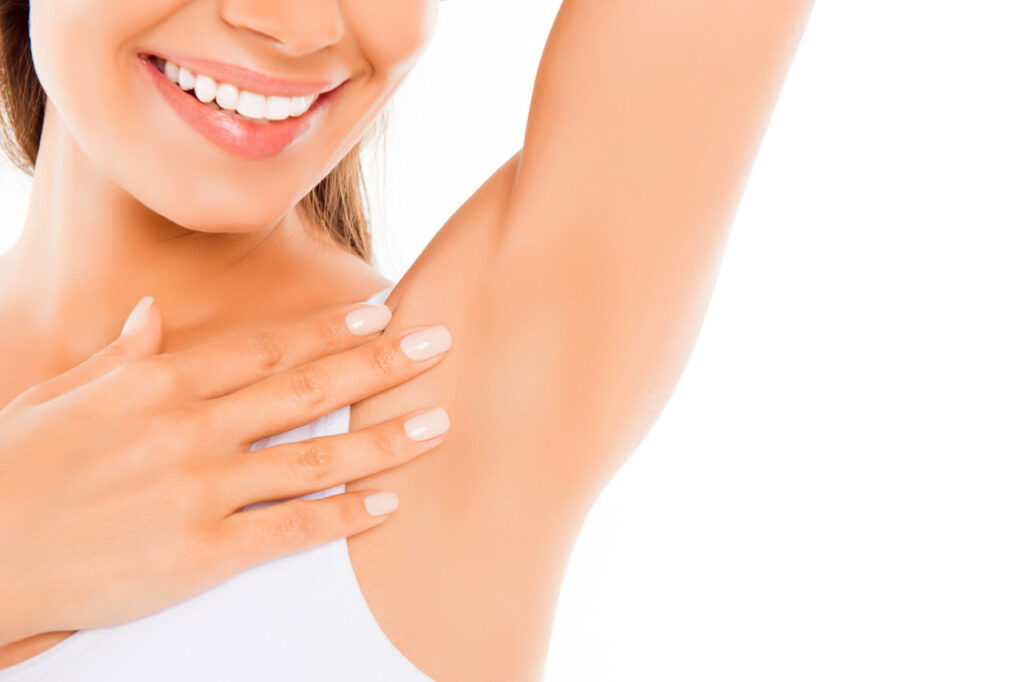 Under arm Laser Hair removal Treatment