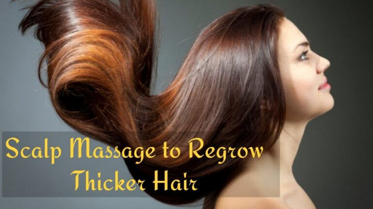 Tips to Regrow Thicker Hair Naturally